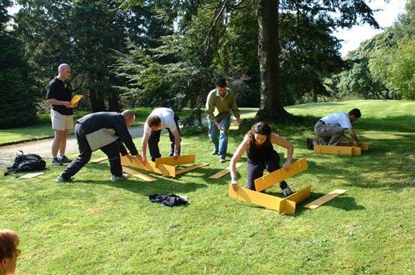 team building activities | corporate outdoor event | Pinterest ...