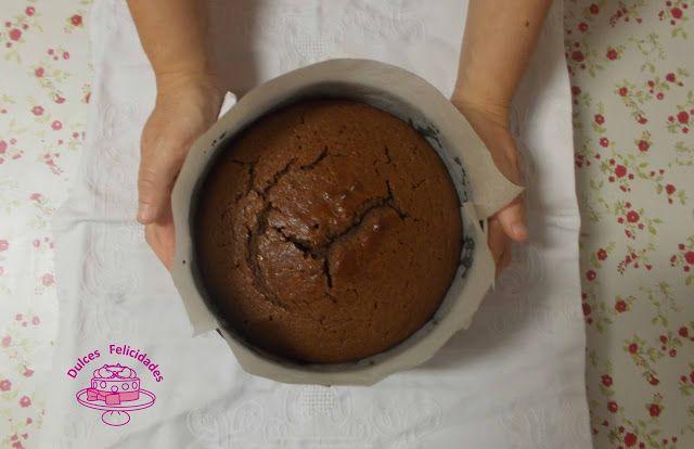 Dulces felicidades: #Bizcocho de #miel y #chocolate