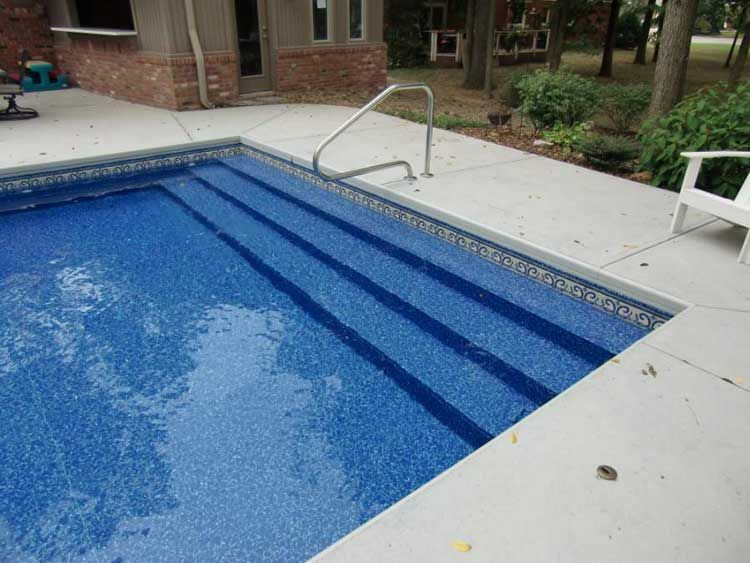Pool Steel Steps Steps For Diifferent Types Of Pools That