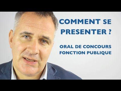 2c30a6d8c4a Présentation oral de concours fonction publique   exemples et erreurs à  éviter - YouTube