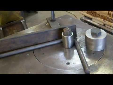 DIY Metal Bender For Bending Reinforcing Steel, Rod, Round, Flat, Square,