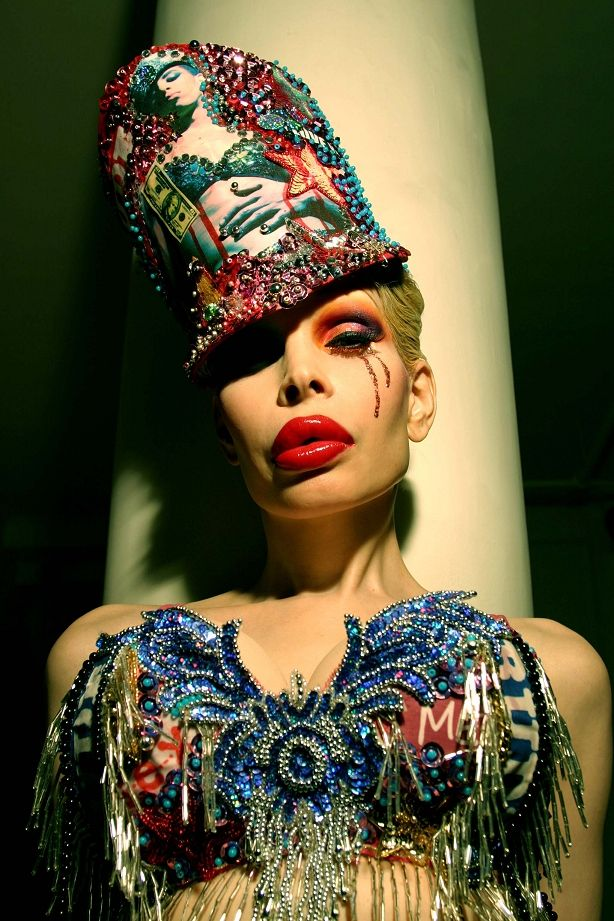 Amanda Lepore. We go to the same bank. There's no ...