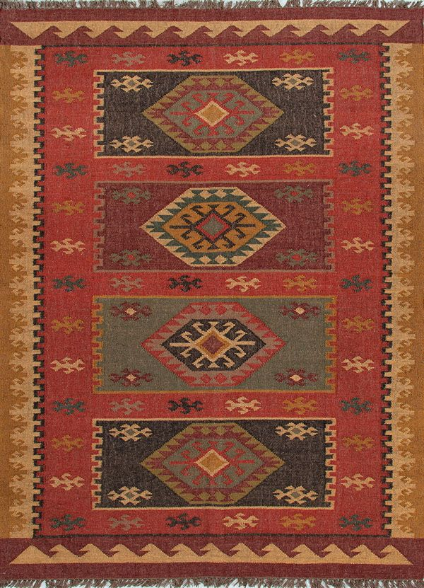 Bedouin Amman Bd04 Red By Jaipur Rugs Inc