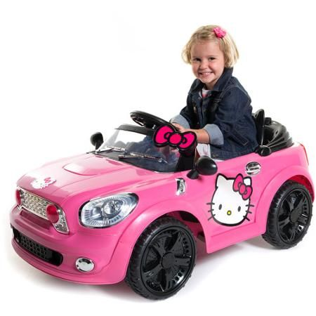 Hello Kitty Coupe 6-Volt Battery-Powered Ride-On - Walmart