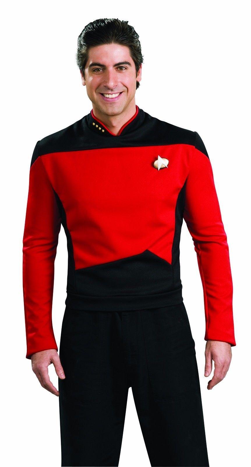 Rubies Star Trek Deluxe Next Generation Rot Command Halloween Kostüm 888979