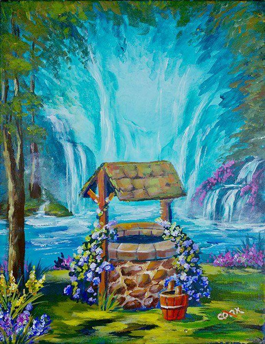 Heavenly Wishing Well - A Magical Step by Step Beginner ...