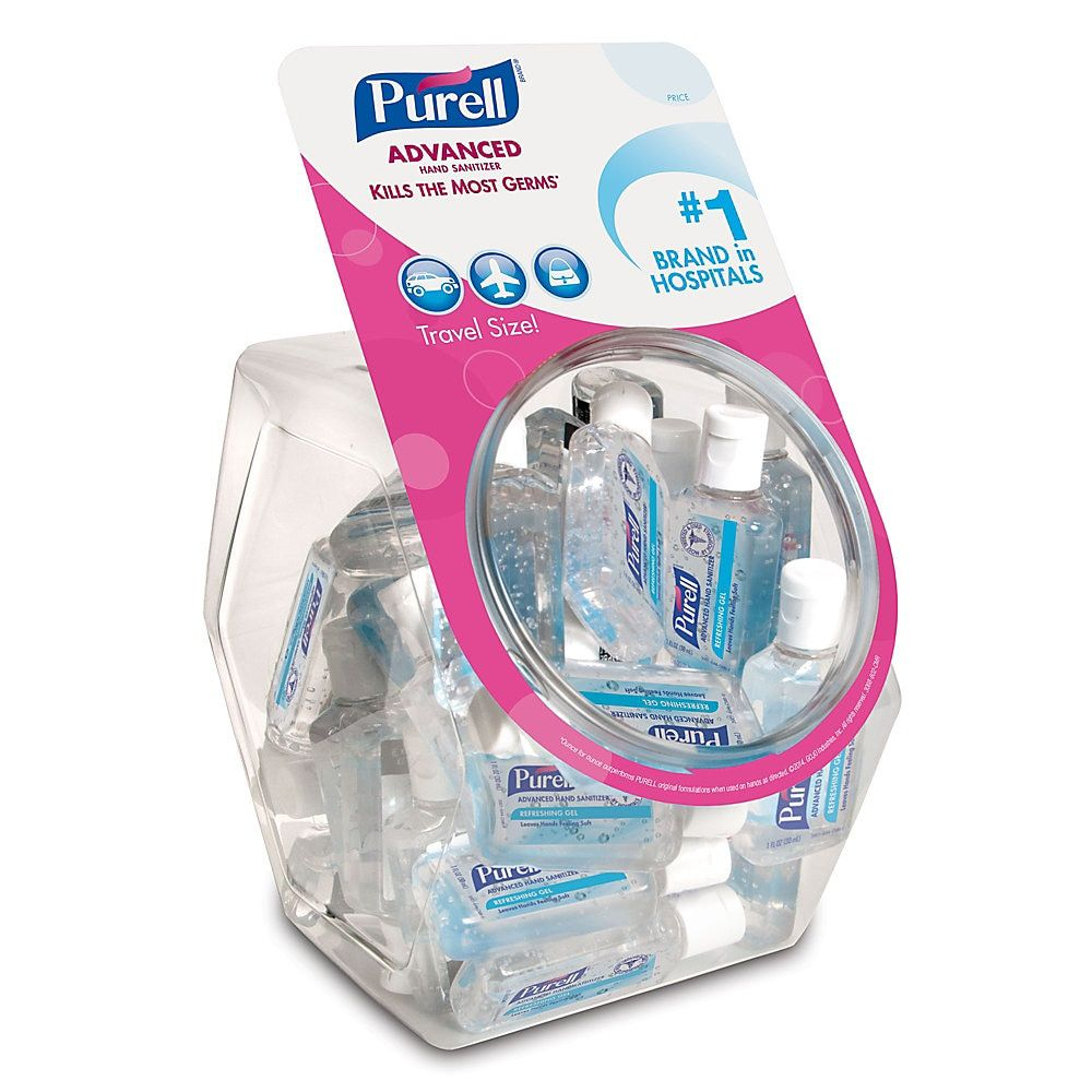 Purell Advanced Instant Hand Sanitizer Gel 1 Oz Lemon Scent