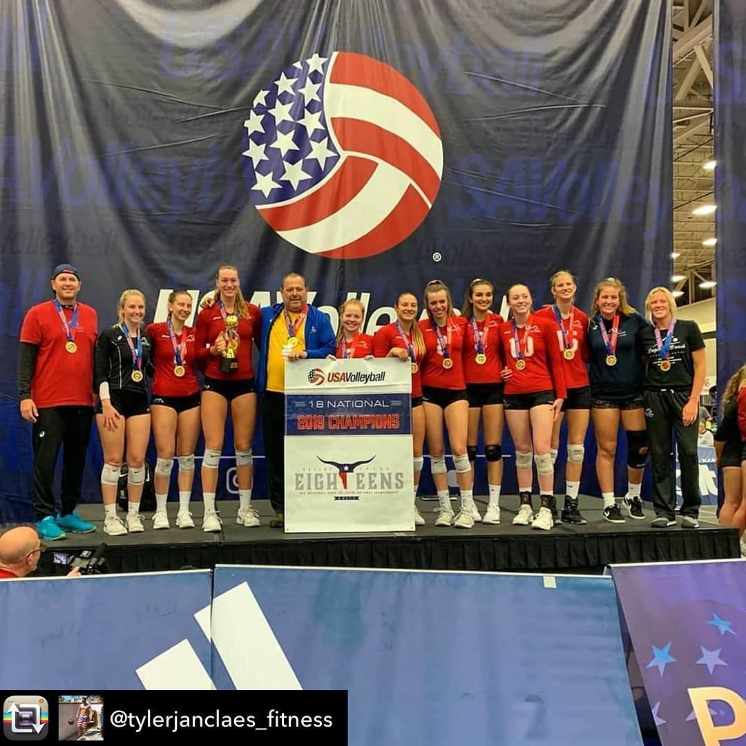 Rock Athletes Continuing To Excel On The Volleyball Court Nice Job Ladies Repost From Rock Athletes Conti Athlete National Championship Fitness Motivation
