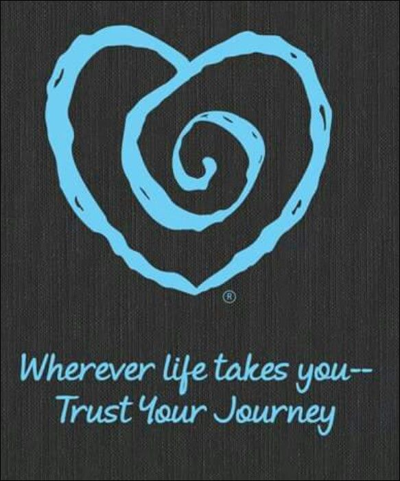 Wherever Life Takes You Trust The Journey Journaling