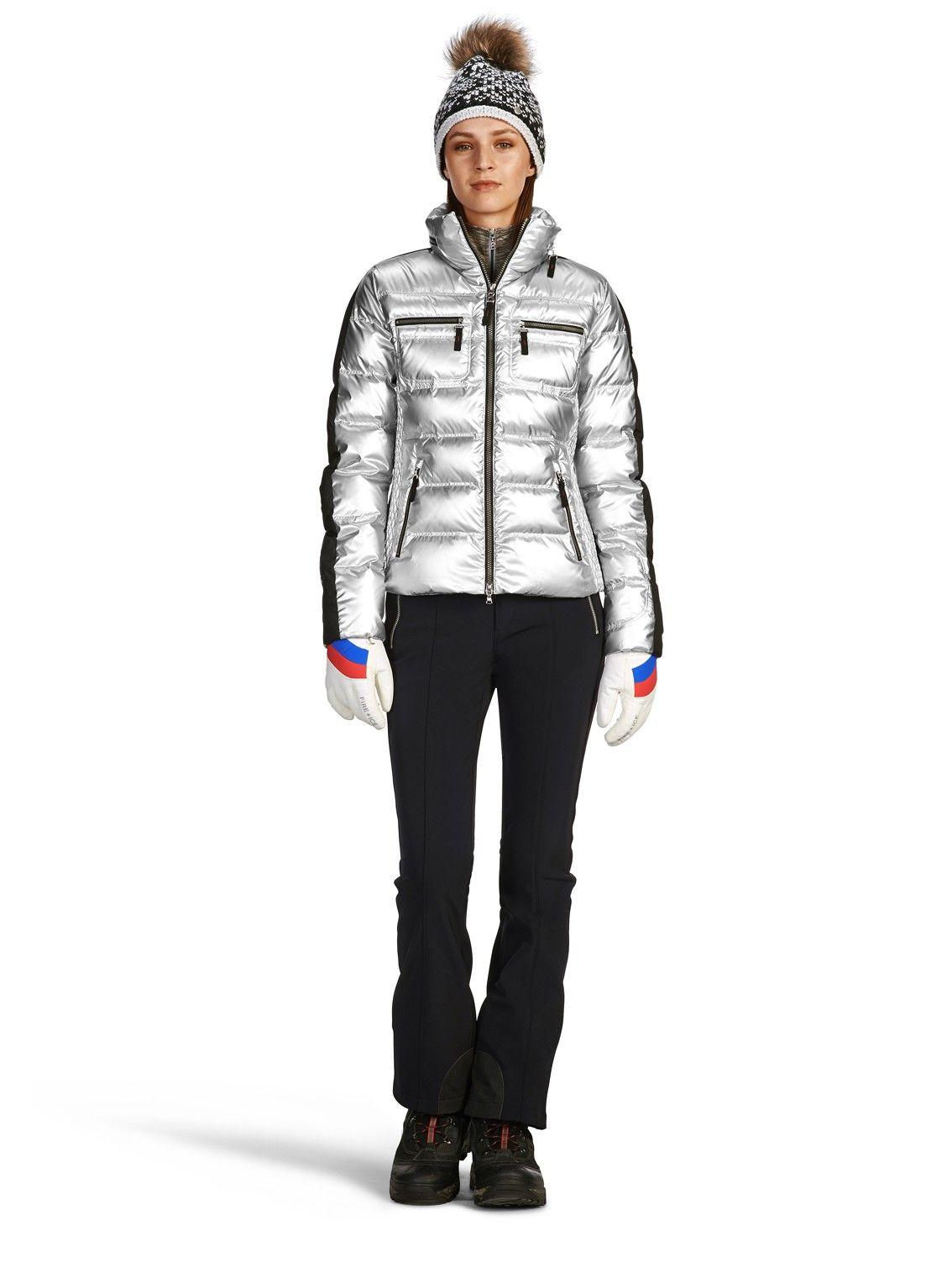 Down Jacket Leony, Silver | Women's activewear, down ...