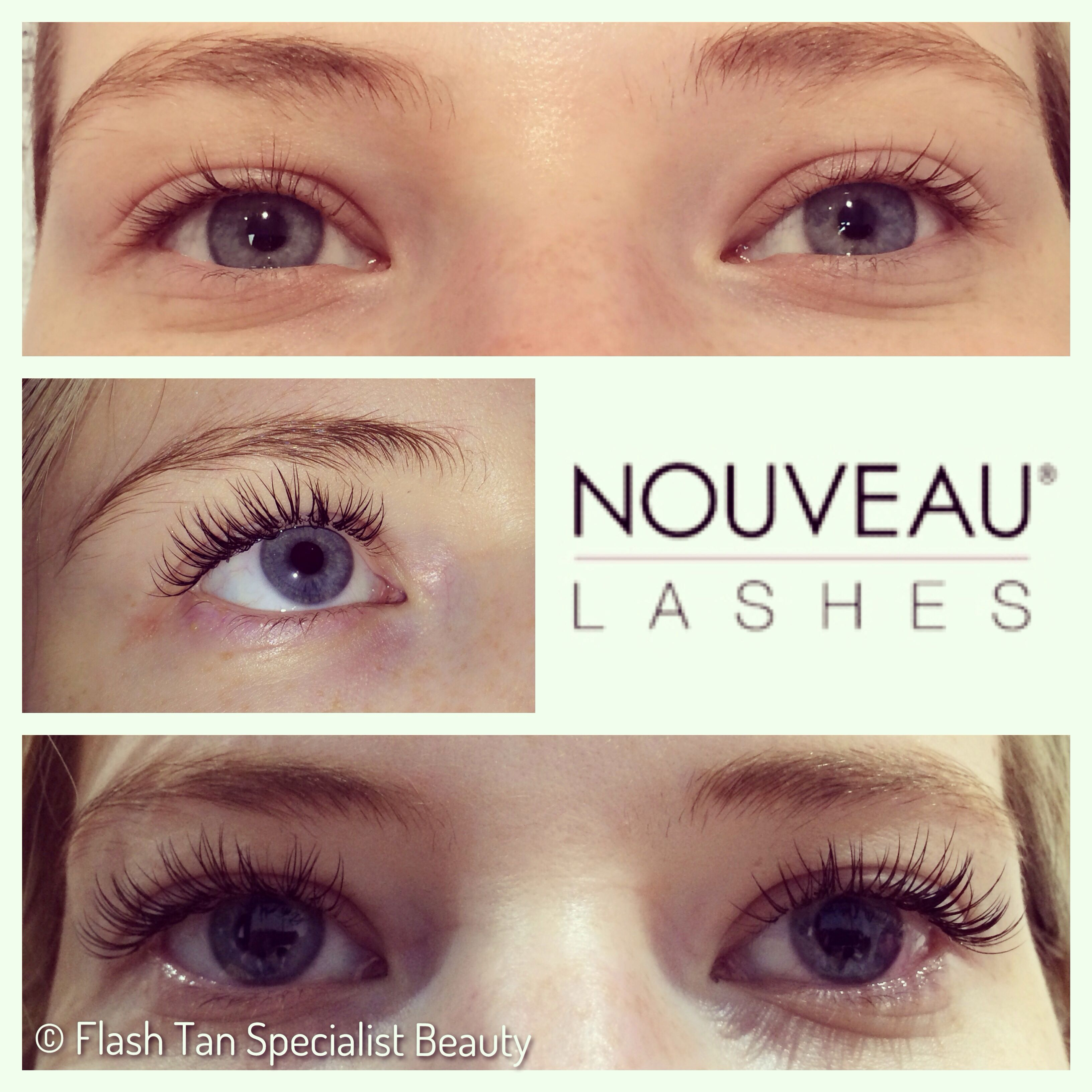 75dd18bc1cc Half set of lash extensions | Lashes | Eyelash extensions, Lash ...