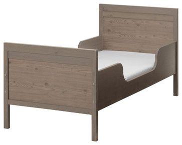 brand new 150e3 35554 Sundvik Bed Frame With Slatted Bed Base, Gray/Brown beds ...