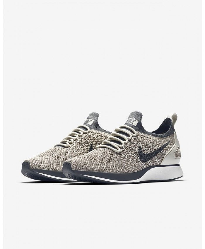 Nike Air Zoom Mariah Flyknit Racer AA0521-002 Grey White Women s Lifestyle  Shoes Flyknit Racer Mariah ecee8a34f
