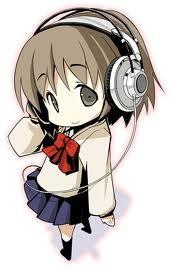 Chibi With Headphones Reference Anime Chibi Chibi Anime