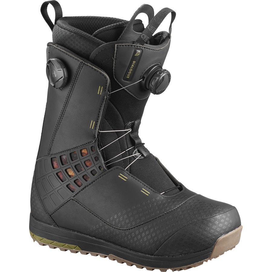 Salomon Snowboards Dialogue Focus Boa Snowboard Boot Men S Snowboard Boots Boots Wide Boots