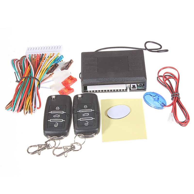 Check Price Car Alarm Systems Auto Remote Central Kit Door Lock