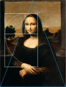 Monalisa by leonardo da vinci golden rule her face for Golden rule painting