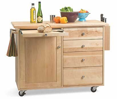 Traditional Kitchen Island. From Pompanoosuc Mills. American ...