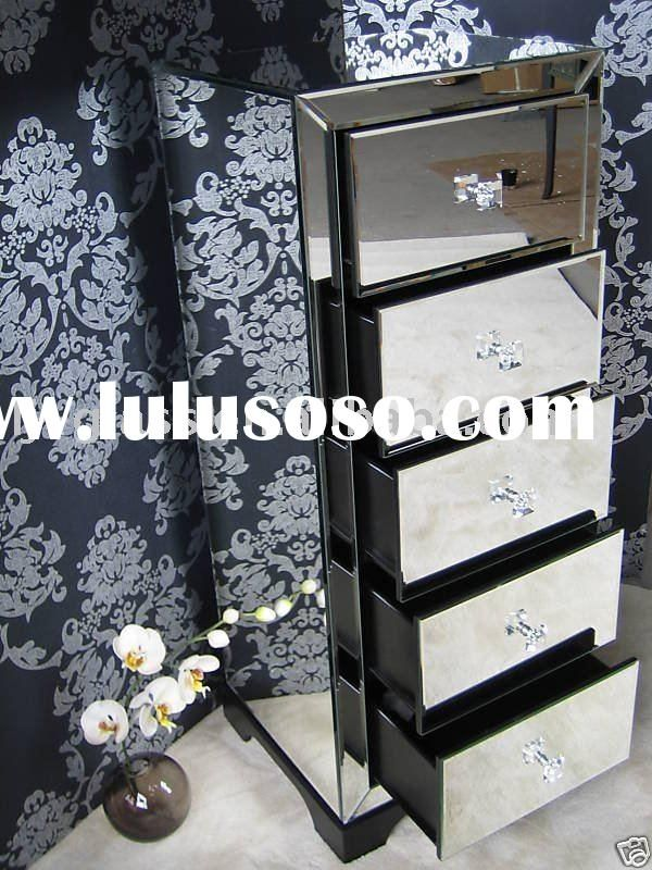 mirrored chest,glass venetian home furniture,mirrored bedroom ...