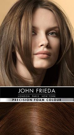 frieda hair styles 6n brilliant 174 light brown precision 8256