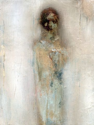 IN DREAMS/ by Fran Williams/      2011/     Oil on wood/     20x27cm