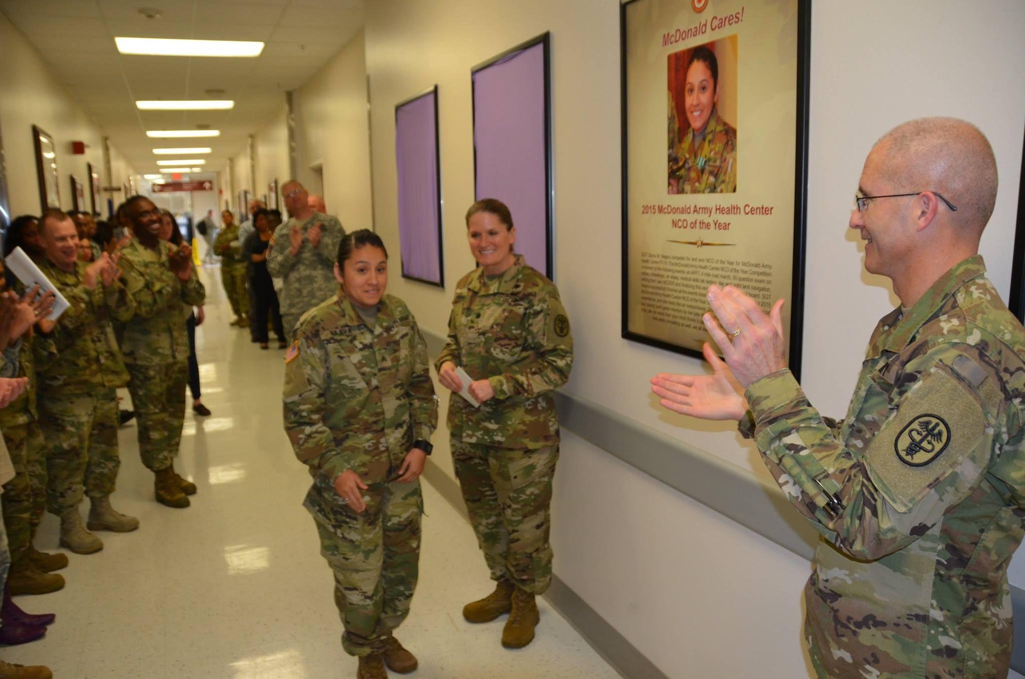 Brig gen place celebrates mcdonald army health centers