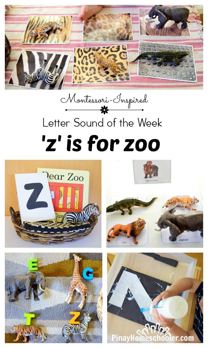 Letter Z Zoo Animal Activities Zoo animal activities