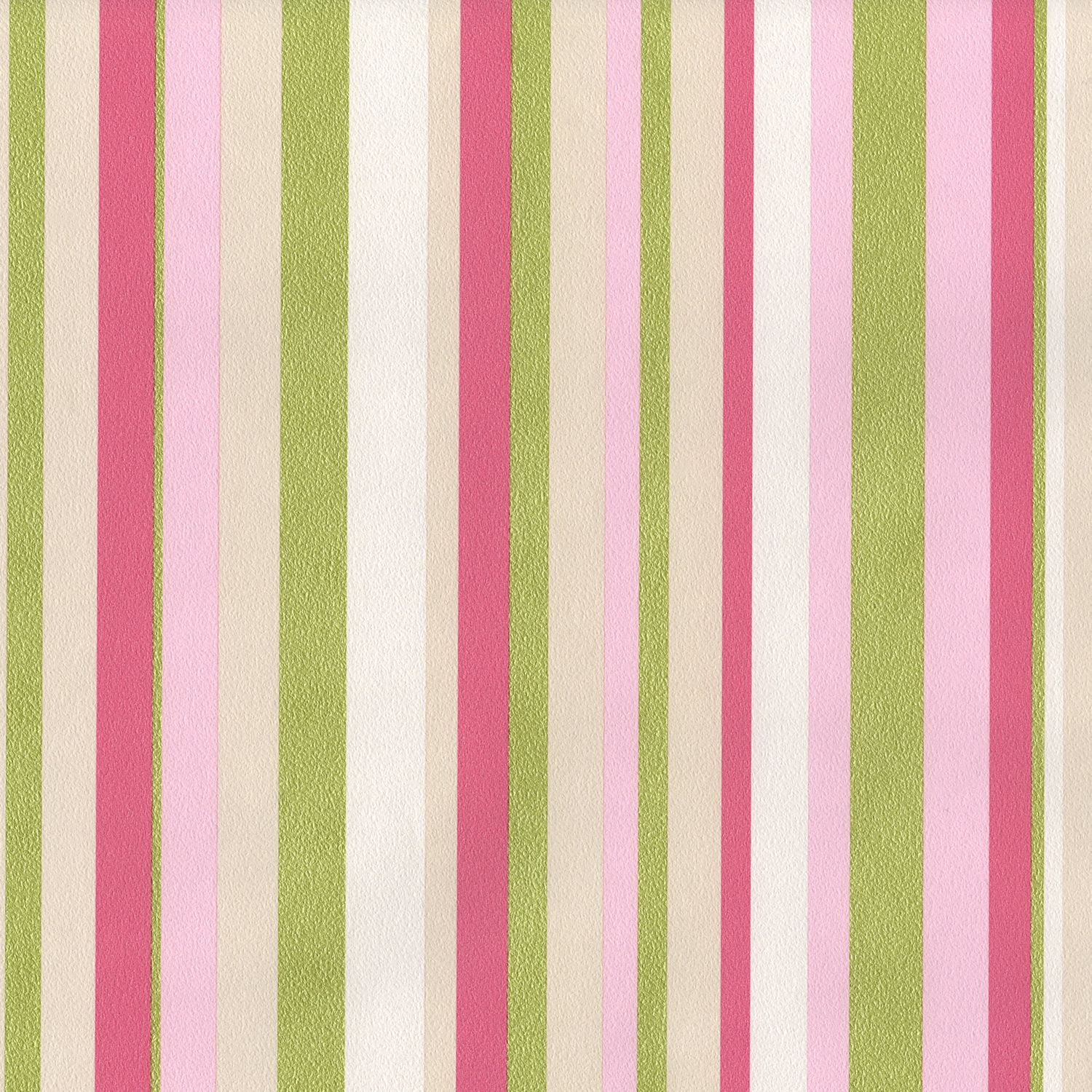 pink and green Muriva Rose Stripe Pink and Green