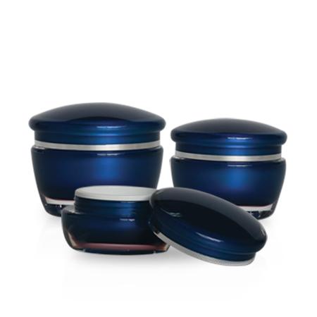 J10 Round Acrylic Jars