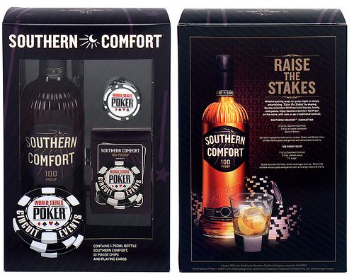 Southern Comfort World Series Poker gift pack