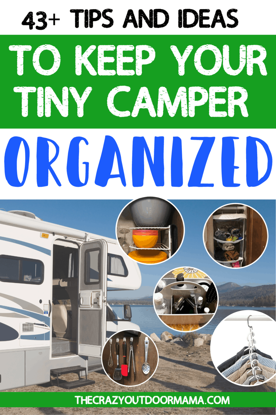61 Best Rv Organization Accessories And Products Of 2020 2020 The Crazy Outdoor Mama Rv Organization Travel Trailer Camping Camping Organization