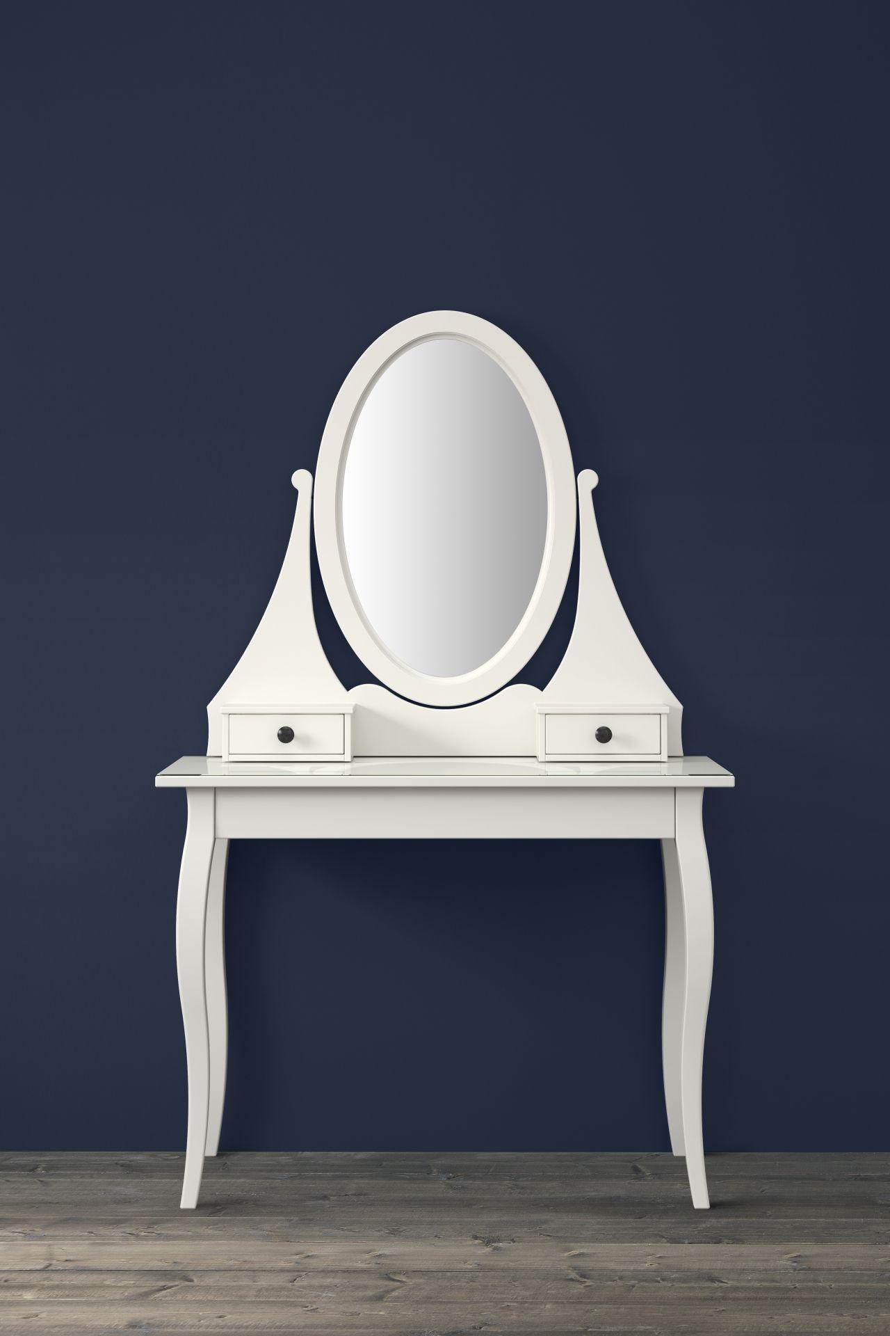 HEMNES Toilettafel met spiegel, wit | Pinterest | HEMNES, Vanities ...