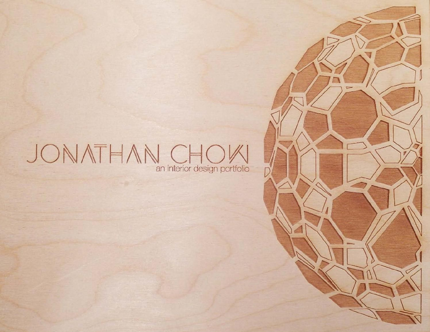 Jonathan Chow's Interior Design Portfolio 2014 by Jonathan Chow