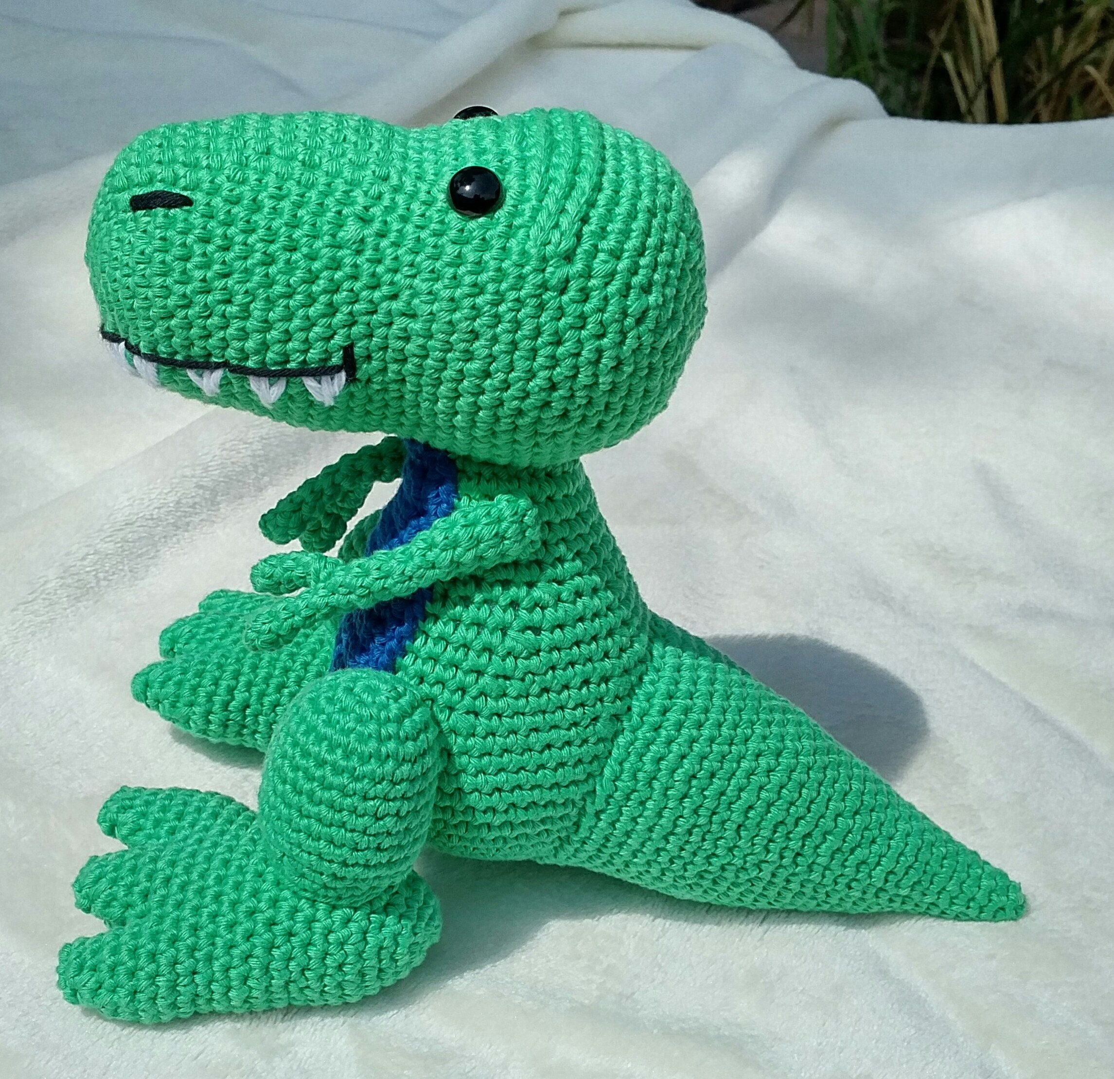PDF T-Rex Crochet Pattern Travis the T-Rex Crochet Pattern ...