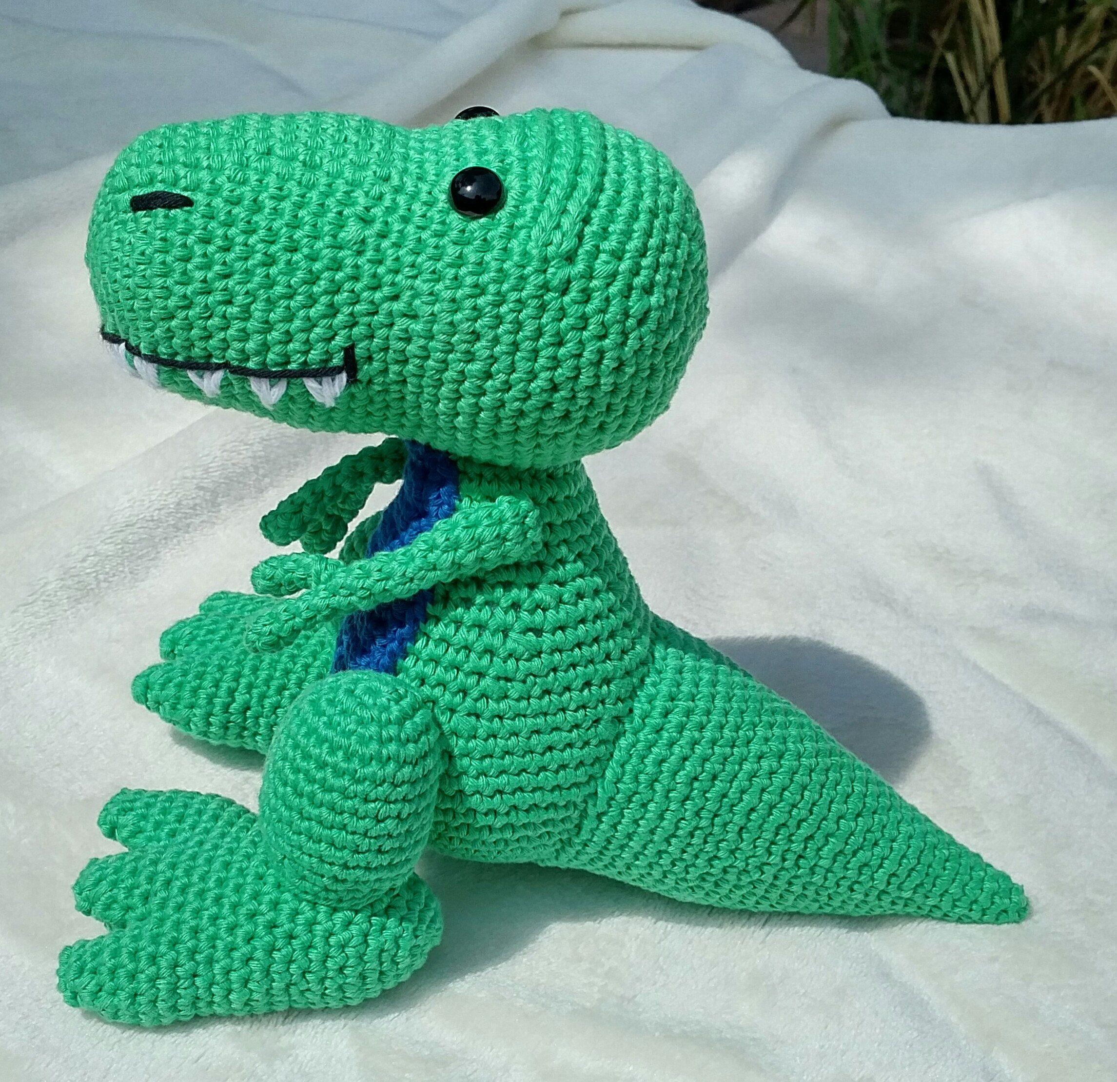 PDF T-Rex Crochet Pattern Travis the T-Rex Crochet Pattern ...