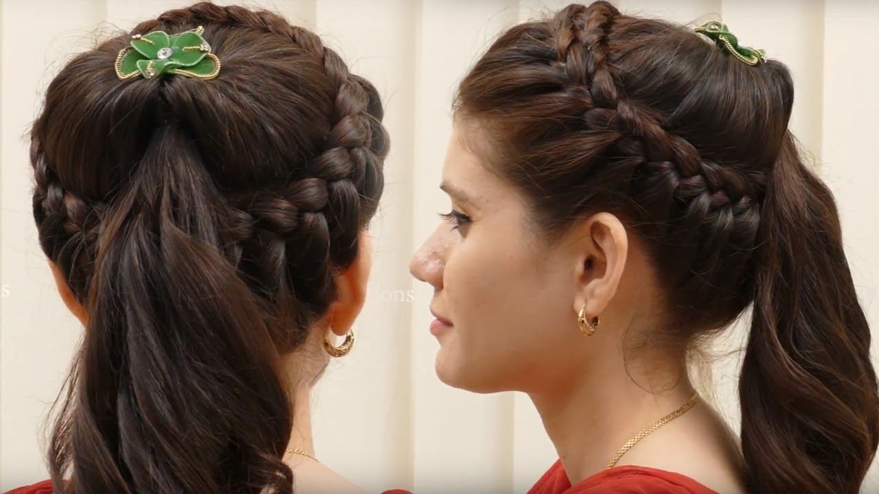 Pin On Everyday Hair Styles For Party Wedding
