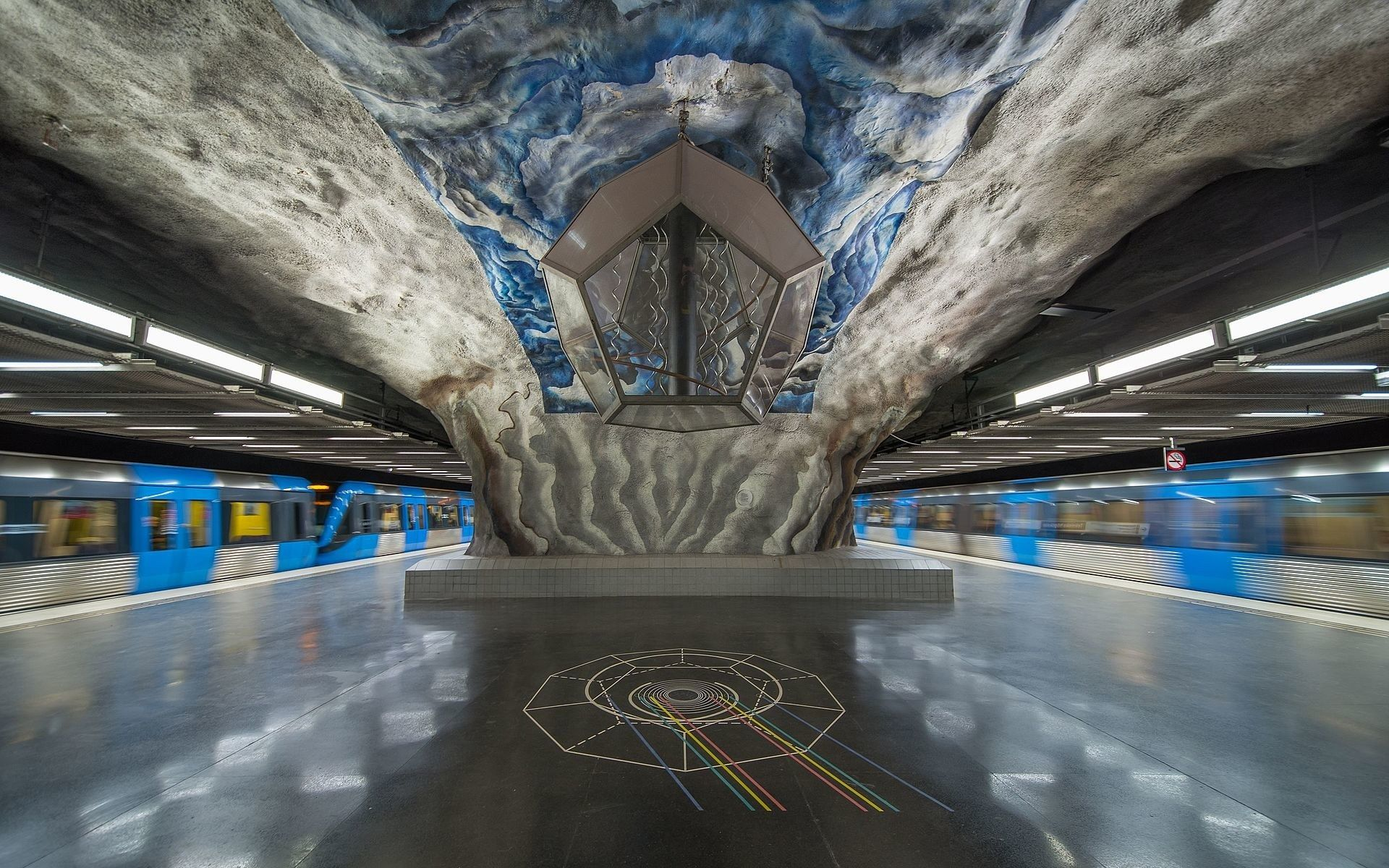 Stockholm's Subway Is the World's Longest Art Gallery