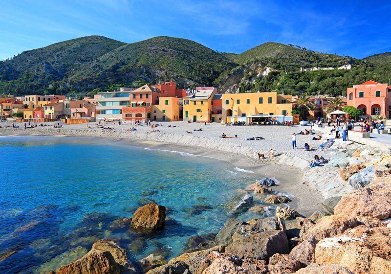 My beach. Since ever & for ever. Varigotti, Italia ...