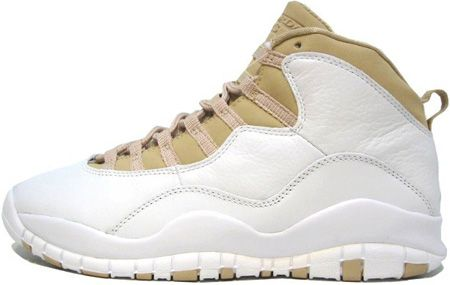 Air Jordan X Linen New Orleans Pelicans Layout Shoes