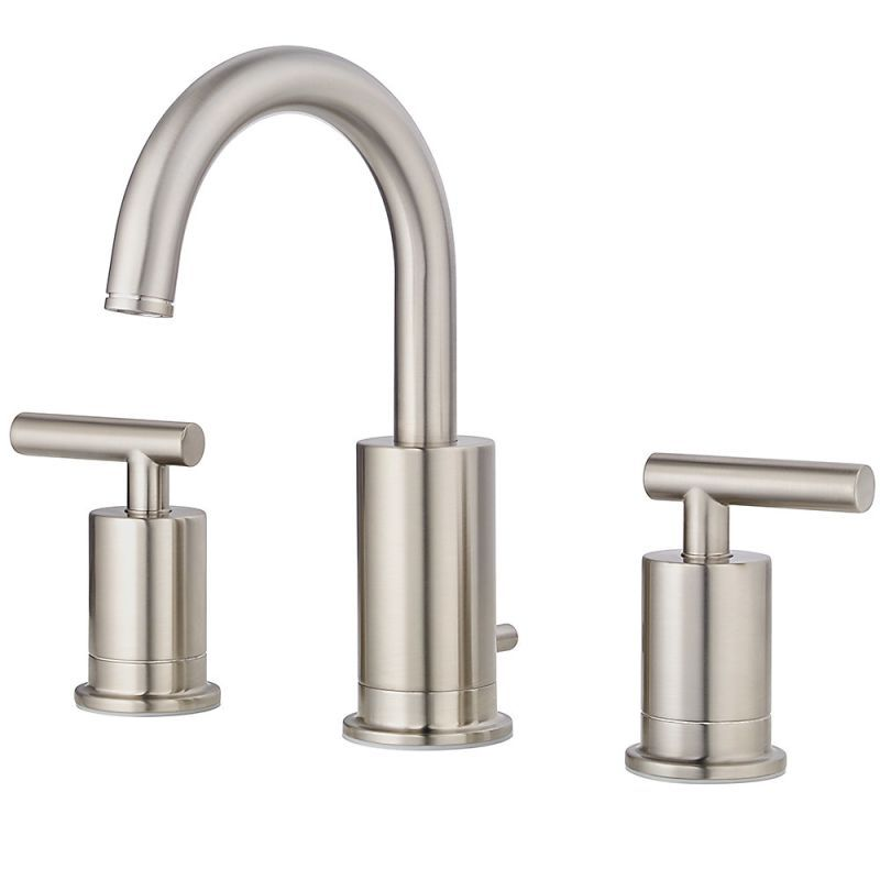 Pfister LG49-NC1K Brushed Nickel Contempra 1.2 GPM Widespread ...