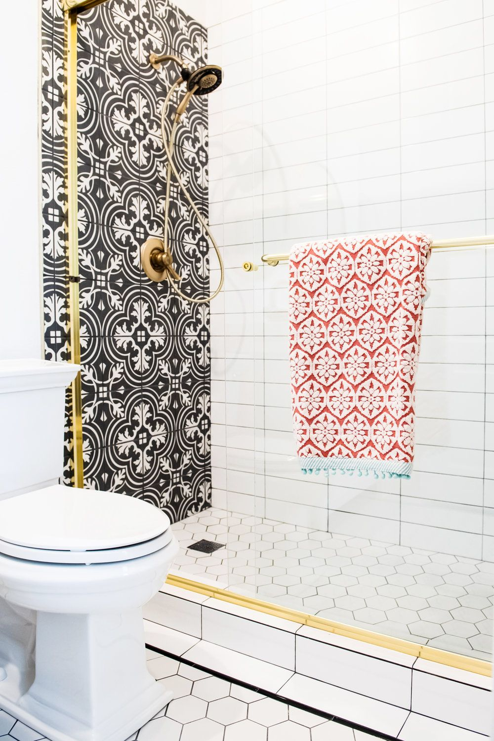 Modern Spanish Glam: Using Graphic Tile Tastefully | Pinterest ...