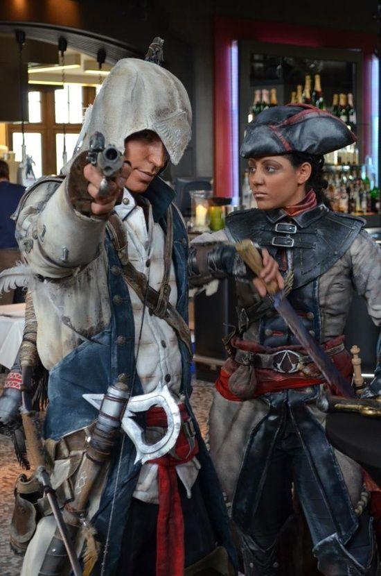 Cosplay Assassin S Creed Iii Assassins Creed Cosplay Assassins