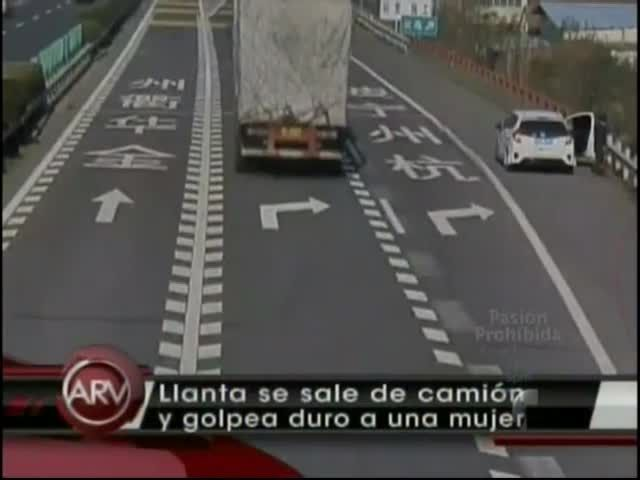 Goma Se Sale De Un Camión Y Le Rompe Varios Huesos A Una Mujer #Video
