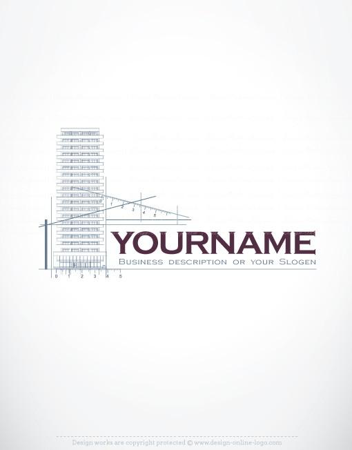 Premium Exclusive Design Architect Real Estate Logo Compatible