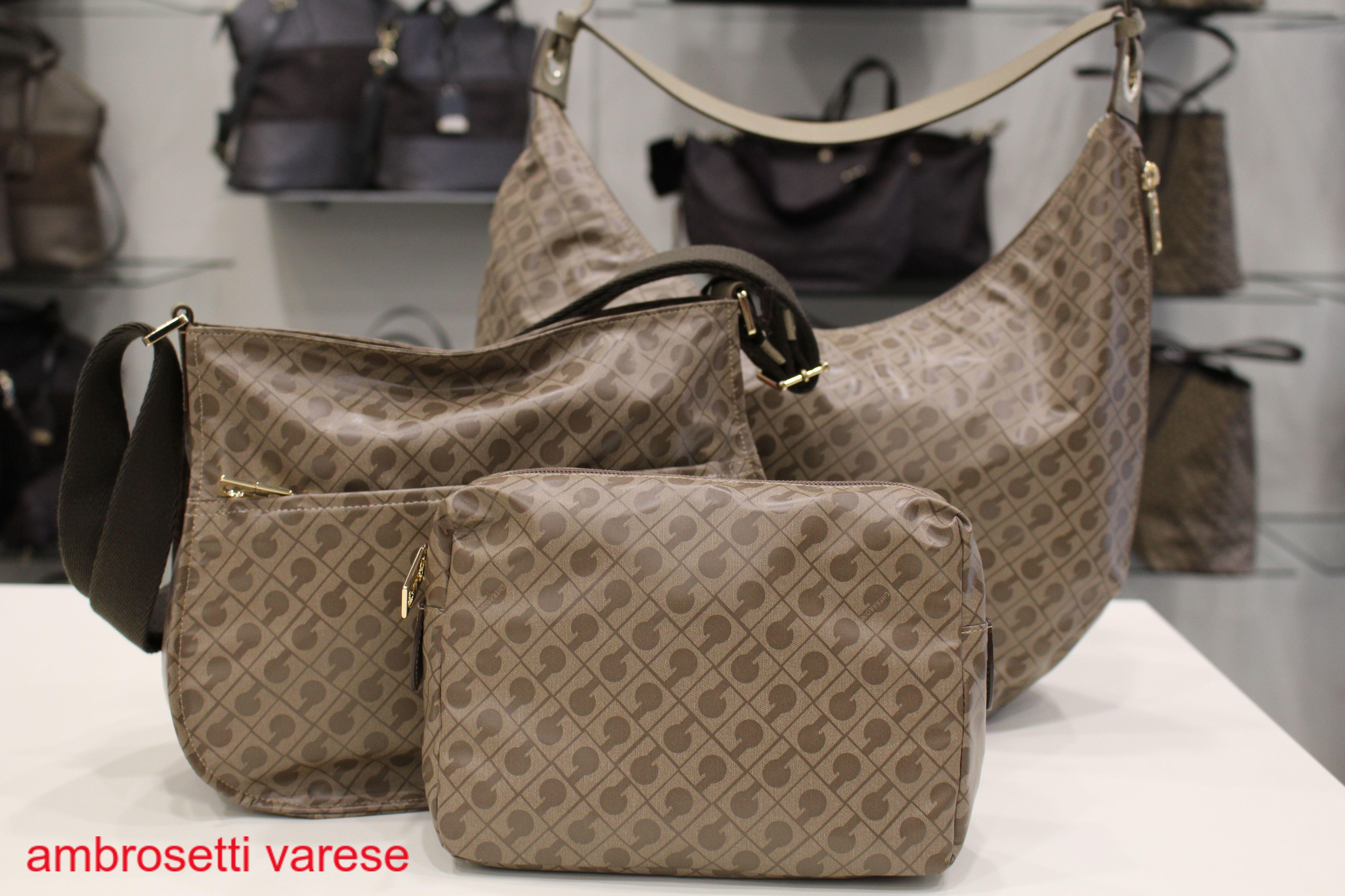 Borse Donna Gherardini.New Softy Taupe Bag By Gherardini Borse Portafogli