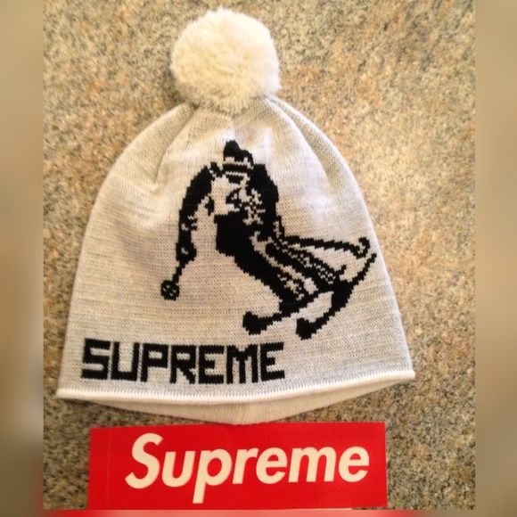 2786493b3f2 Supreme Downhill Beanie Supreme Downhill beanie purchased on the Supreme  website on Deb 4th 2015 (