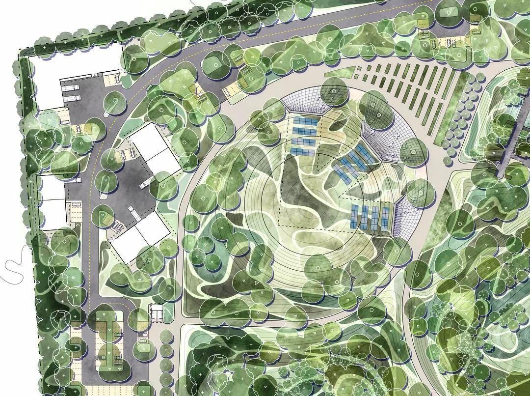 Pin Van Greg Boudrero Op Landscape Architecture Design Architectuur Tuinarchitectuur Architecten