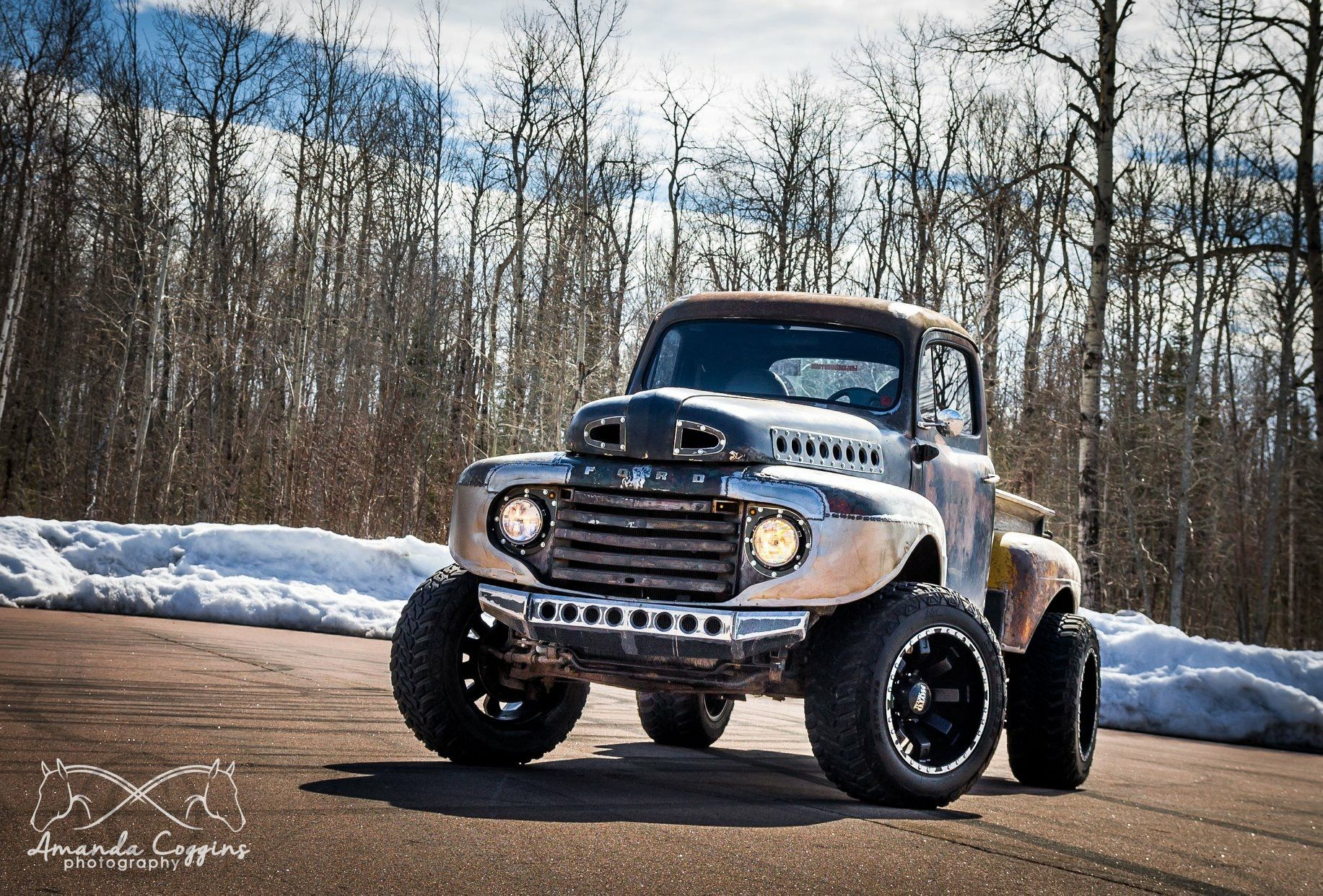 1948 50 Ford 4x4 Pickup Truck With Images Ford Pickup Trucks