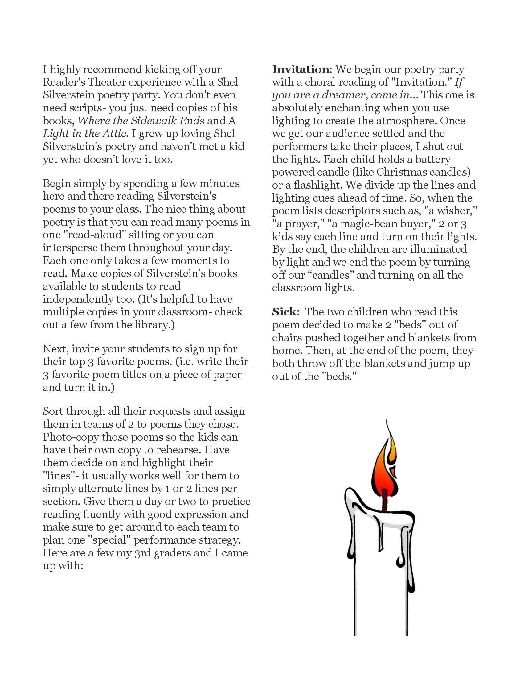 Invitation Poem By Shel Silverstein - Letter BestKitchenView CO