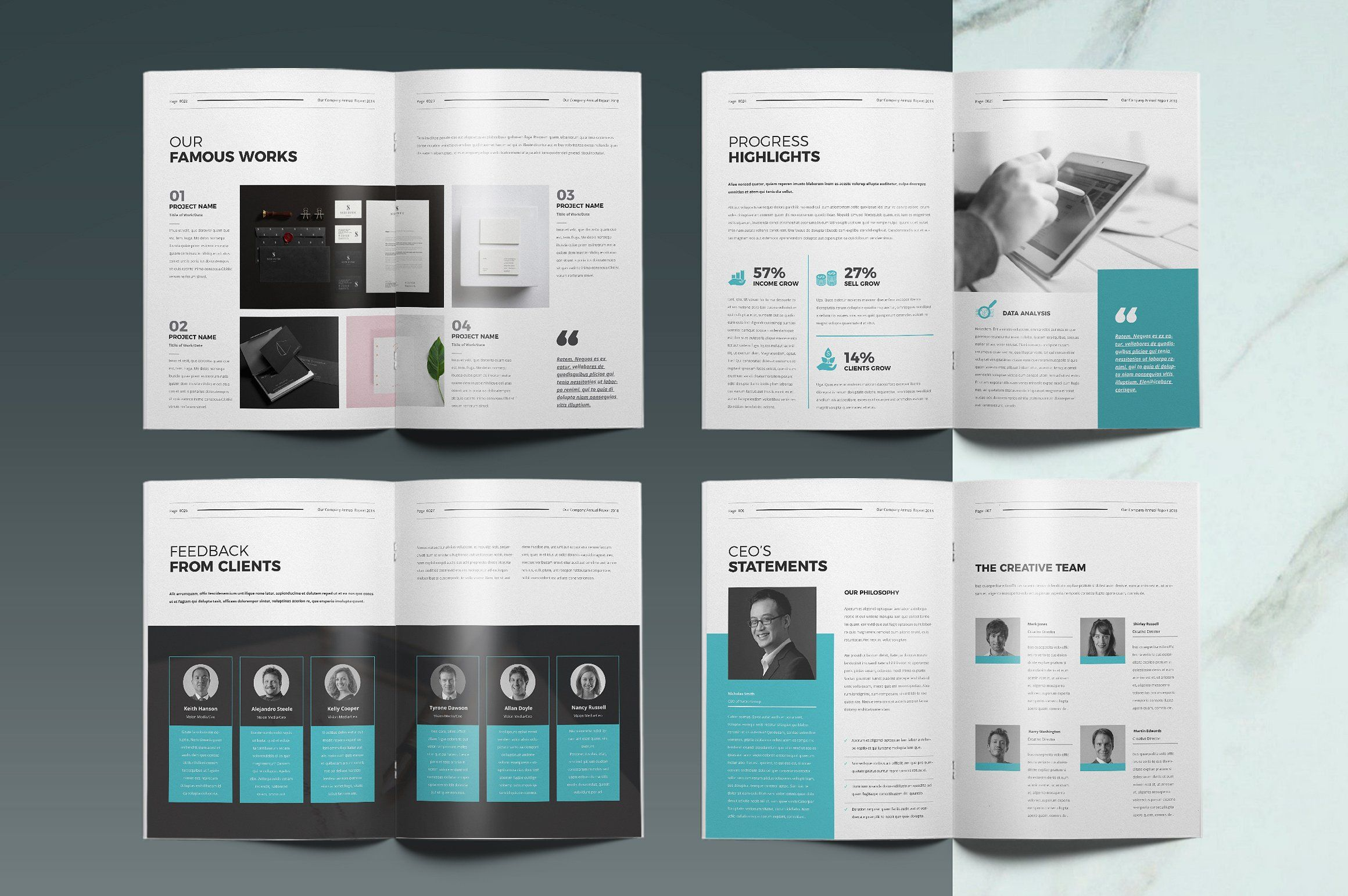Annual Report Template Templates